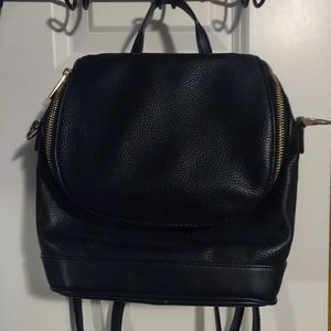 A New Day Black Convertible Bag